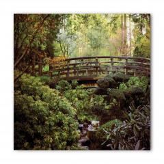 Ormandaki Ahşap Köprü Bandana Fular