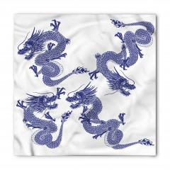 Japon Ejderhaları Bandana Fular