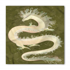 Mitolojik Çin Ejderhası Bandana Fular