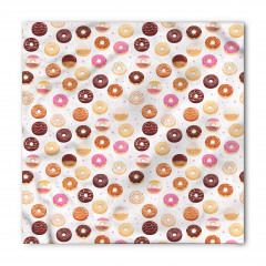 Donut Desenli Bandana Fular