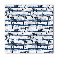 Palmiye Ağaçları Desenli Bandana Fular
