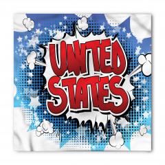 ABD Yazılı Grafiti Bandana Fular