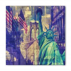 New York Gökdelenleri Bandana Fular