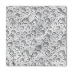 Su Damlası Desenli Bandana Fular