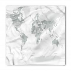 Dünya Haritası Bandana Fular