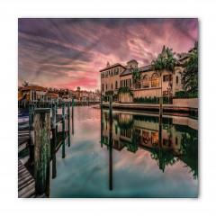 Venedik Kanalında Gün Doğumu Bandana Fular