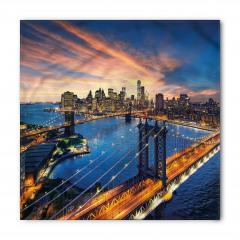 New York'ta Gün Doğumu Bandana Fular