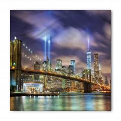 Işıklı New York Bandana Fular
