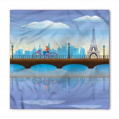 Paris'te Gezinti Bandana Fular