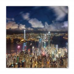 Hong Kong Limanı Bandana Fular