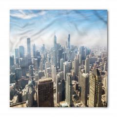 Chicago'ya Havadan Bakış Bandana Fular