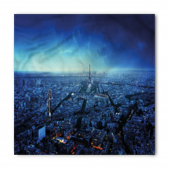 Gün Batımında Paris Silüeti Bandana Fular