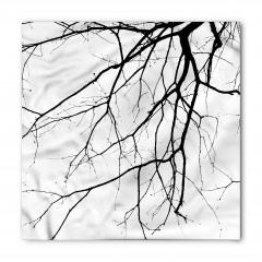 Sonbaharda Ağaç Dalları Bandana Fular