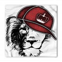 Kral Şapkalı Aslan Bandana Fular
