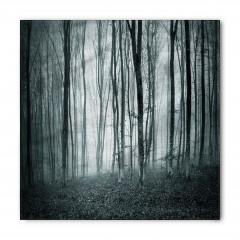 Sisli Ormandaki Ağaçlar Bandana Fular