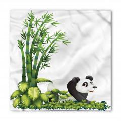 Sevimli Panda ve Bambu Bandana Fular