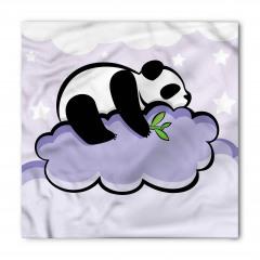 Bulut Üstündeki Panda Bandana Fular