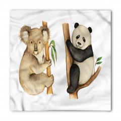 Sevimli Koala ve Panda Bandana Fular