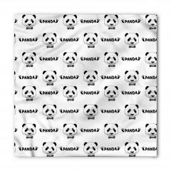 Şirin Panda Portreli Bandana Fular