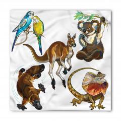 Tropikal Hayvanlar Bandana Fular