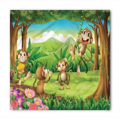 Sevimli Maymunlar Bandana Fular