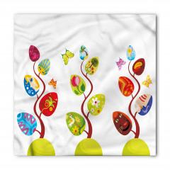 Rengarenk Büyülü Ağaç Bandana Fular