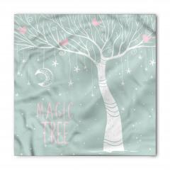Sihirli Ağaç Desenli Bandana Fular