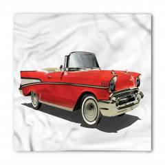 Kırmızı Şık Araba Bandana Fular