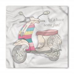 Gri Motosiklet Bandana Fular