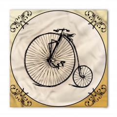 Nostaljik Bisiklet Bandana Fular