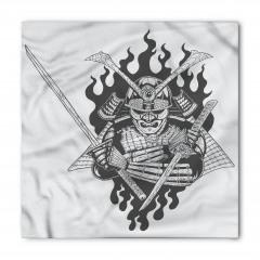 Nostaljik Samuray Bandana Fular