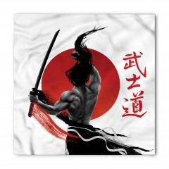 Samuray ve Kılıcı Bandana Fular