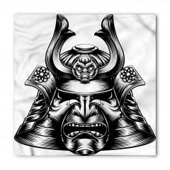 Samuray Kaskı Temalı Bandana Fular