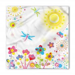 Yusufçuk ve Çiçek Bandana Fular