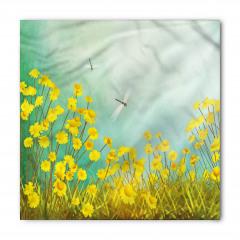 Çiçek ve Yusufçuk Bandana Fular