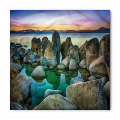 Kayalı Göl Bandana Fular