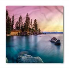 Ağaç ve Göl Bandana Fular