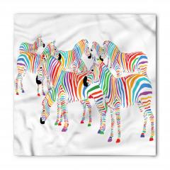Sevimli Zebra Bandana Fular