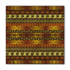 Kahverengi Etnik Bandana Fular
