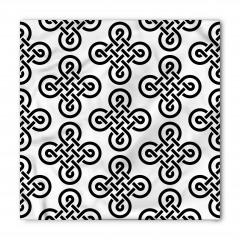 Kelt Geometrik Düğüm Bandana Fular