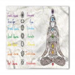 Yoga ve Çakralar Bandana Fular