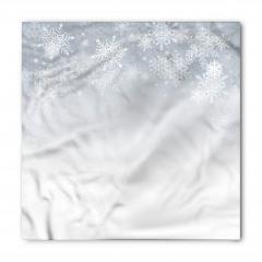 Kar Taneleri Desenli Bandana Fular