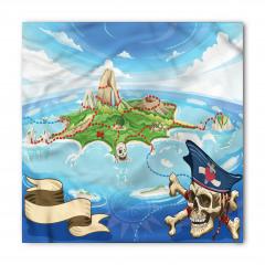 Korsan Adası Temalı Bandana Fular