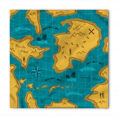 Macera Haritası Temalı Bandana Fular