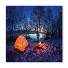 Göl Kenarında Kamp Bandana Fular