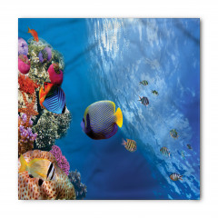 Tropikal Balıklar Bandana Fular