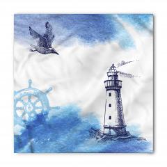 Martı ve Deniz Feneri Bandana Fular