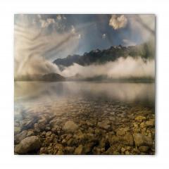 Sisli Göl ve Dağlar Bandana Fular