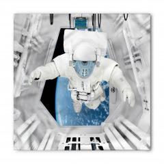 Uzay Temalı Bandana Fular