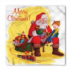 Noel Baba ve Kız Bandana Fular